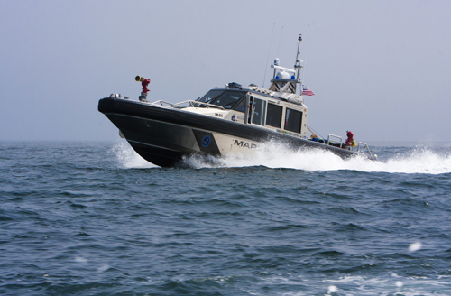 Suffolk Sheriff's new marine boat