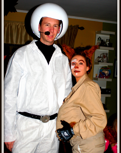 Jeff and Melissa Micari won the best costume contest at Suffolk Theater this weekend.