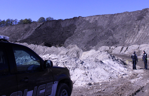 A Riverhead man was killed in a mining accident last Friday in East Quogue. (Credit: The Press News Group)