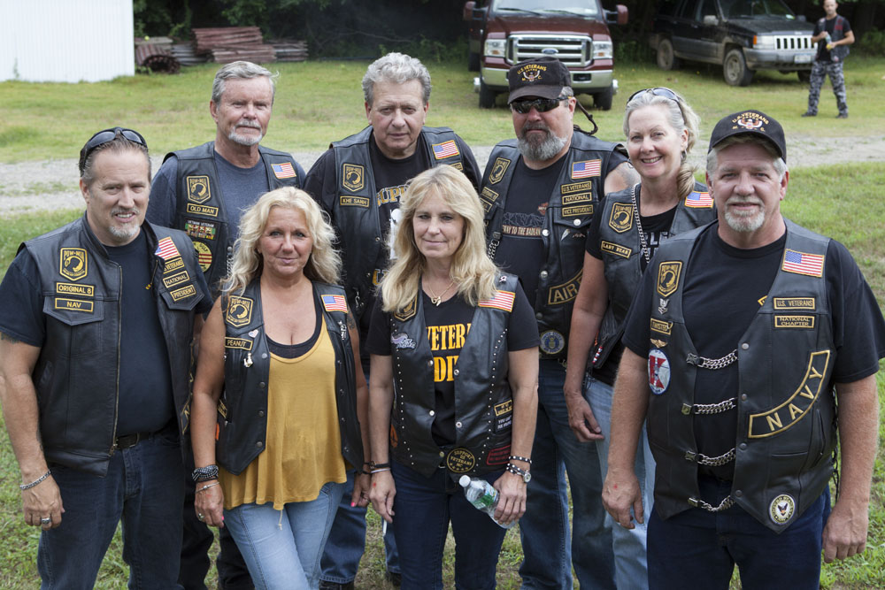U.S. Veterans motorcycle club. (Credit: Katharine Schroeder)