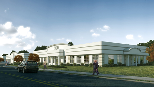 IKE ISRAEL COURTESY PHOTO | An artist's rendering of the Northville Commerce Park.