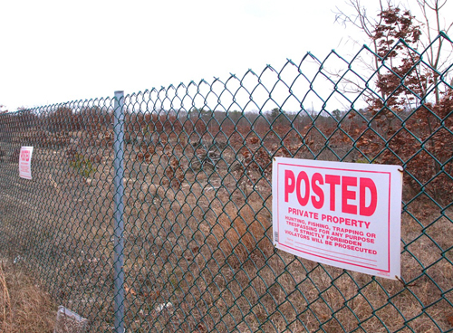 NEWS-REVIEW FILE PHOTO | Larry Oxman lost his property on Route 58 to foreclosure as it got tied up in litigation. A Christmas Tree Shops is now planned for the site.