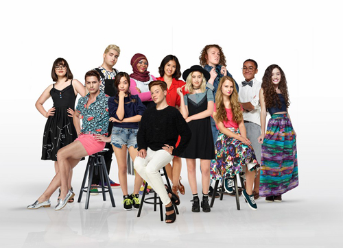 The cast of 'Project Runway: Junior.' (Courtesy photo)