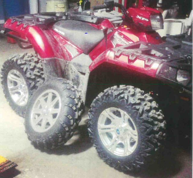 quad stolen in Riverhead