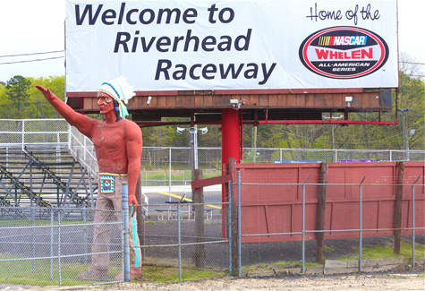 NEWS-REVIEW FILE PHOTO | Riverhead raceway is the subject of a new documentary filming this month.