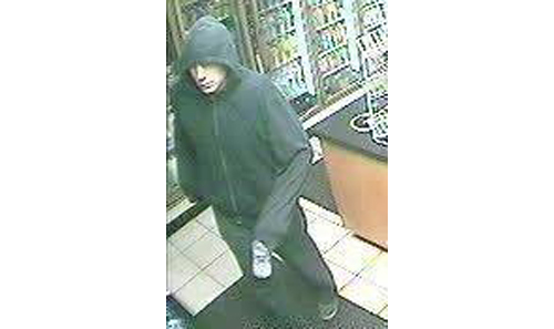 COURTESY SCPD | Police say this man robbed a Calverton gas station.