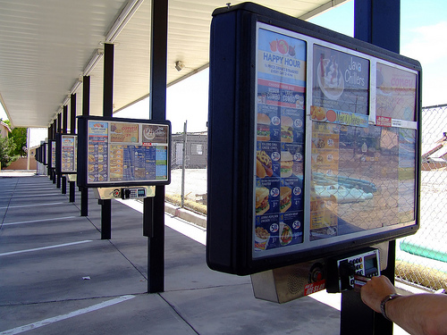 Ordering at a SONIC. (Credit: Creative Commons stock art)