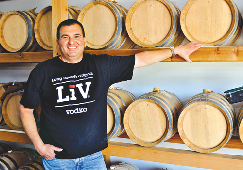 Rich Stabile, Long Island Spirits, Suffolk, Nassau, Long Island, LiV Vodka