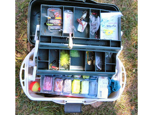A tackle box. (Credit: Flickr/Viewoftheworld)
