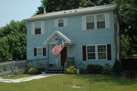 COURTESY PHOTO | Suffolk County United Veterans operates permanent supportive housing like this house for veterans in need.