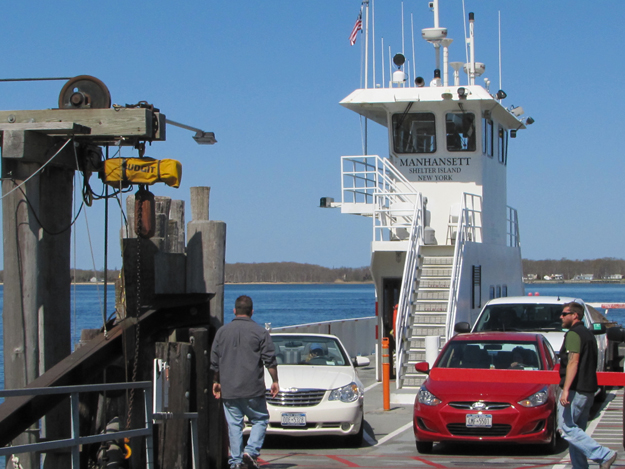 Un-seasonal ferry delay: Boat repairs the culprit