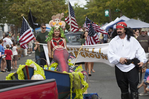 KATHARINE SCHROEDER PHOTO | The 24th annual Greenport Maritime Festival parade was held Saturday.