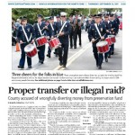 The front page from the Sept. 22, 2011 issue of The Suffolk Times.