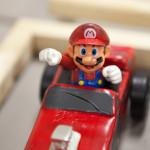 A Mario derby car.