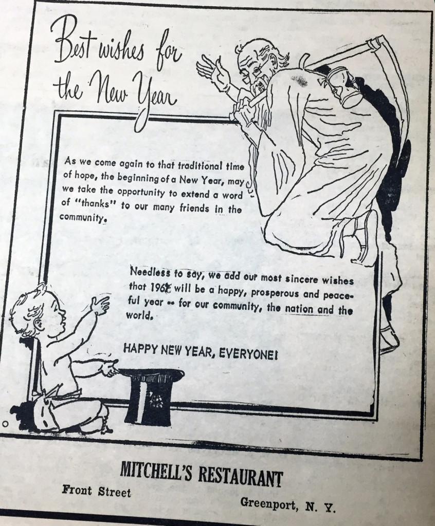 Mitchell's Restaurant —December 27, 1963