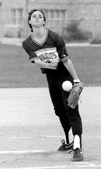 ROBERT O'ROURK FILE PHOTO | As a pitcher for Shoreham Bettenhauser posted a 23-1 record in her junior season.