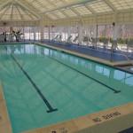 Refurbished pool.
