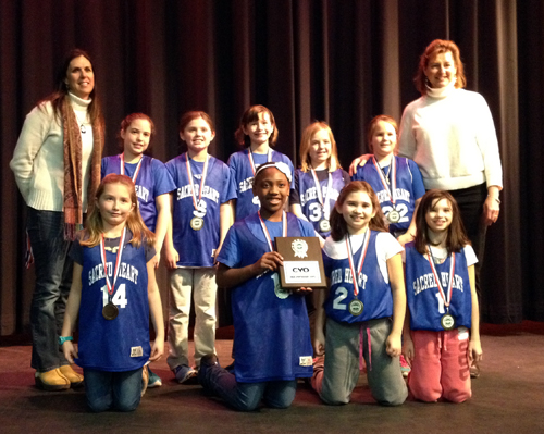 4th Grade Girls CYO Sportsmanship  Award