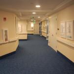 Hallway at Harbor South.