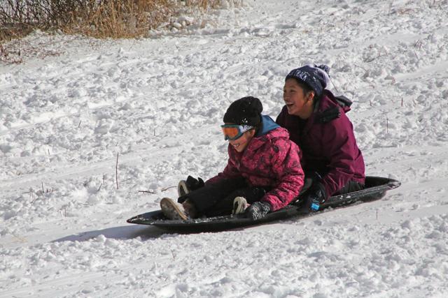 7_Mattituck sledding