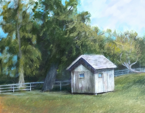 """Corn Crib"" by Diane Alec Smith"