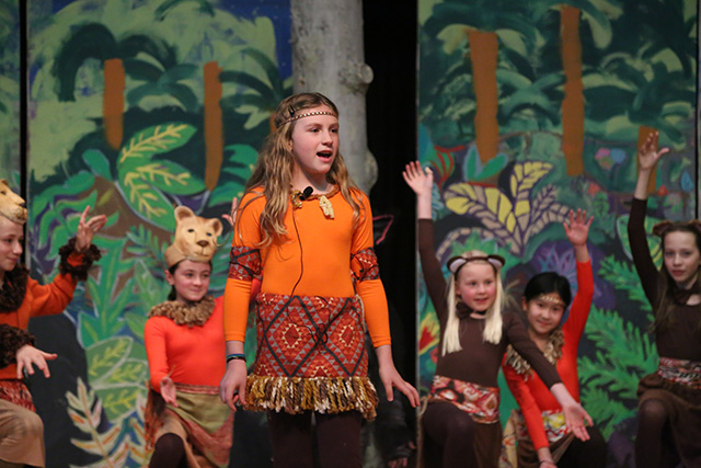 Carolyn Conroy as young Simba.
