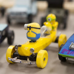 A Minion derby car.