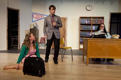 "KATHARINE SCHROEDER PHOTO  |  The Mattituck High School drama club will present ""Are Teachers Human"" beginning Thursday."