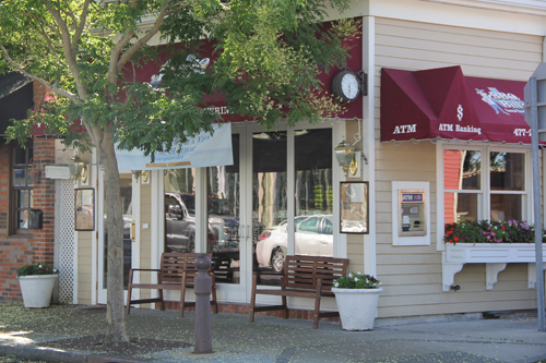 BBQ Bill's on Front Street in Greenport (Credit: Carrie Miller File Photo)