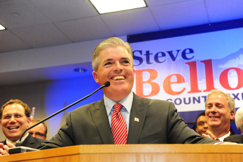 ROBERT O'ROURK FILE PHOTO | Suffolk County Executive Steve Bellone.