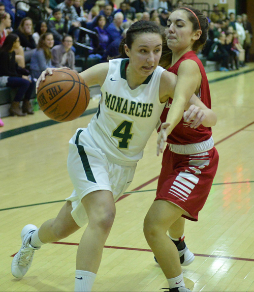 Bishop McGann-Mercy basketball player Mia Behrens 010416
