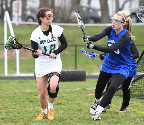 Bishop McGann-Mercy lacrosse player Savannah Hauser 040616
