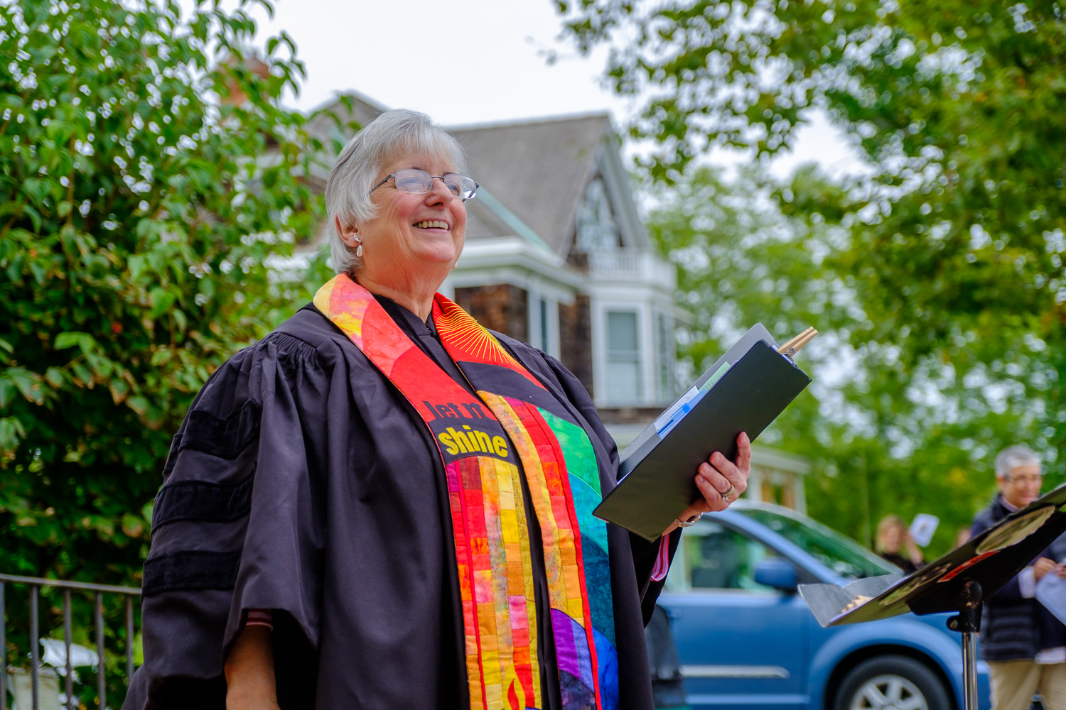 Rev. Dr. Ann Van Cleef of Orient Congregational Church. (Credit: Jeremy Garretson)