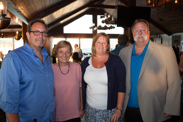 From left:  Jerry Martoccia, Joann Maynard, Southold Town board members Jill Doherty, and Bob Ghosio.