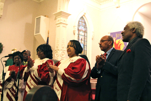 Combined choir of the First Baptist Church of Bridgehampton. (Credit: Jen Nuzzo)