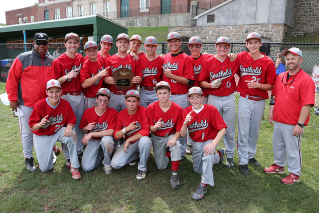 Southold defeated Tuckahoe 8-5 in the Class C Baseball Regional Championship game at  Mamaroneck High School in Mamaroneck. (Credit: Daniel De Mato)