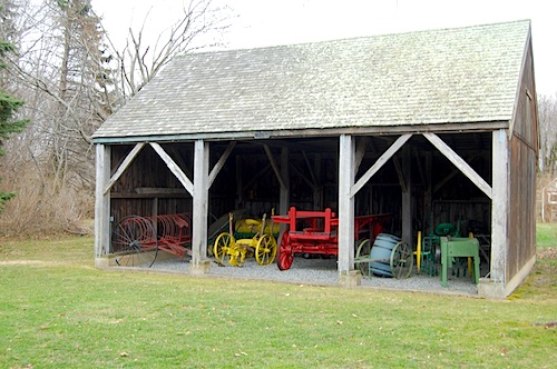 The 18th century L'Hommedieu Barn is no longer wanted by the Southold Historical Society. (Credit: Cyndi Murray)