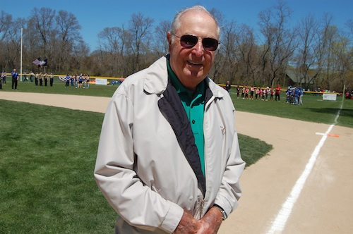 Pete Sabat, who founded Mattituck-Cutchogue Little League in 1968.