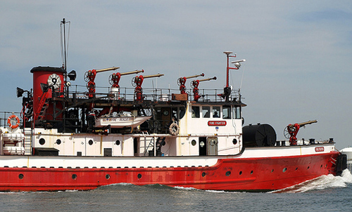 The Fire Fighter boat as it appeared in 2013. (Credit: File photo)