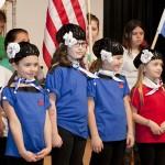KATHARINE SCHROEDER PHOTO | Taking part in International Day in Cutchogue Saturday.