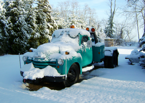 Grattans Towing Snow Pic