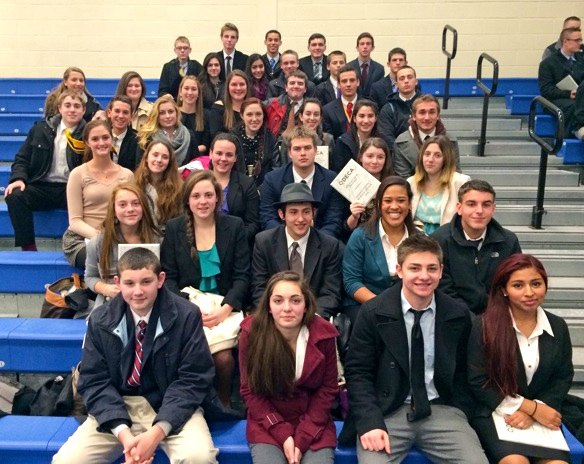 COURTESY PHOTO | Greenport High School DECA students.