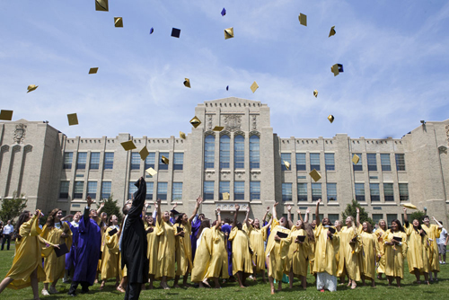 Greenport High School graduation 2014