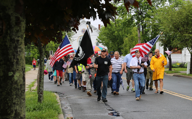 Greenport Memorial Day parade 2016