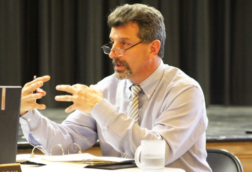 SUFFOLK TIMES FILE PHOTO | Greenport Superintendent Michael Comanda took over as part-time New Suffolk superintendent last year.