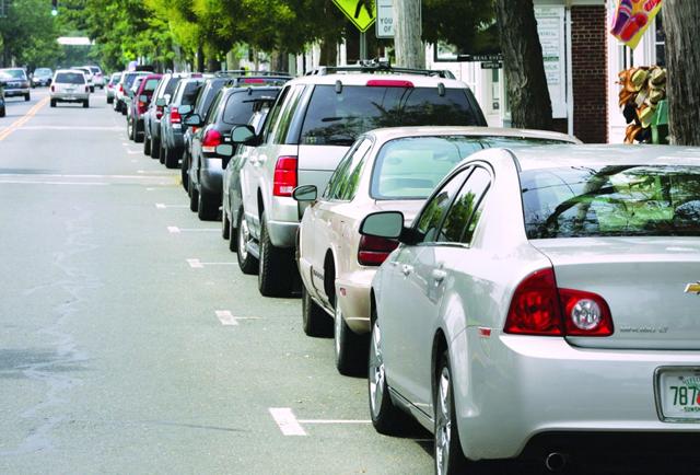 Greenport Village parking