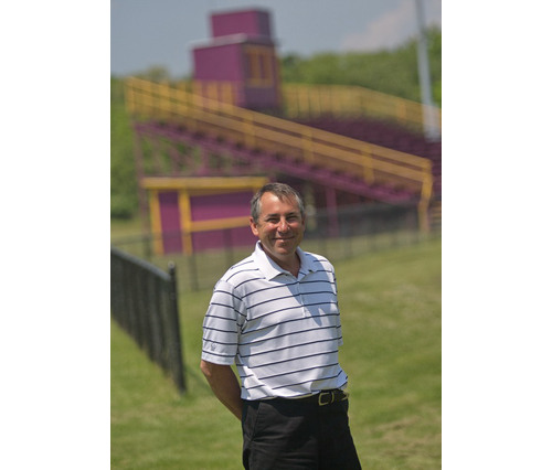 GARRET MEADE PHOTO | Rob Costantini, who has served as Greenport's athletic director for over 15 years, will retire at the end of this month.