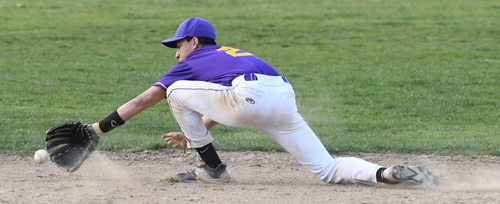 Greenport baseball player Jordan Fonseca 042116