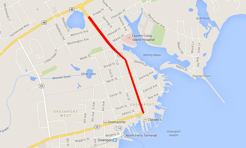 Greenport road