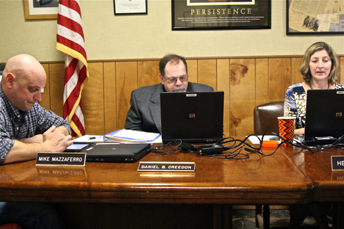 JENNIFER GUSTAVSON PHOTO | The Greenport Board of Education adopted next year's spending plan Wednesday night.